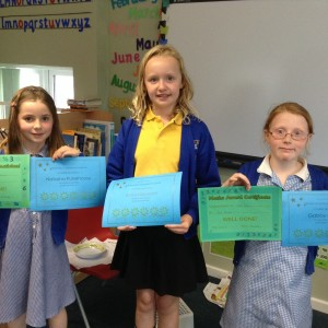 Maths Challenge Winners!